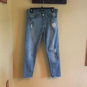 Flying monkey light blue ankle jeans size 29